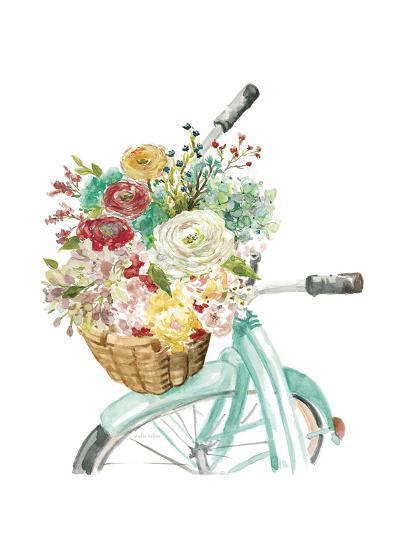 Basket and Bike-Studio Rofino-Art Print