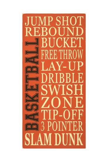 Basket-Ball-Erin Deranja-Art Print