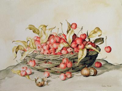 Basket of Cherries, 1998-Amelia Kleiser-Giclee Print