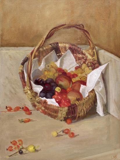 Basket of Fruit-Caroline Hervey-Bathurst-Giclee Print