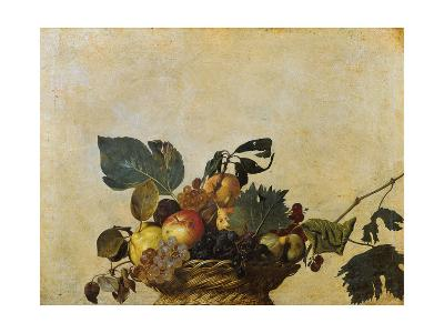 Basket of Fruit-Caravaggio-Giclee Print