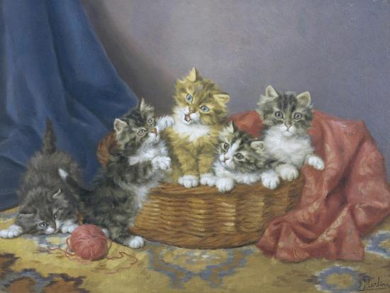 Basket of Mischief-Daniel Merlin-Giclee Print