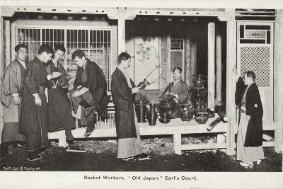 Basket Workers, Old Japan Exhibition, Earl's Court, London, 1907--Photographic Print