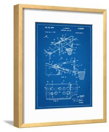Basketball Goal With Backboard Patent 1960