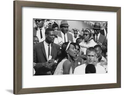 Basketball Player, Bill Russell at the March on Washington, Aug. 28, 1963
