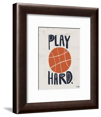 Basketball-Katie Doucette-Framed Art Print