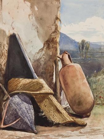 Baskets and Amphora-Giacinto Gigante-Giclee Print