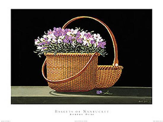 Baskets Of Nantucket-Robert Duff-Art Print