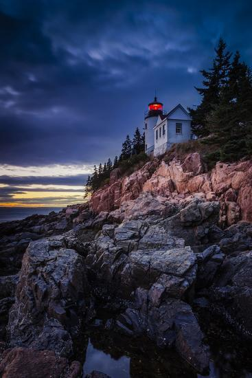 Bass Harbor Lighthouse, Acadia NP, Bass Harbor, Maine, USA-Brian Jannsen-Photographic Print