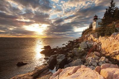 Bass Harbor Lighthouse-Michael Hudson-Art Print