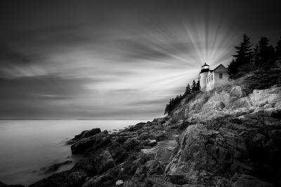 Bass Harbor Lighthouse-Moises Levy-Photographic Print
