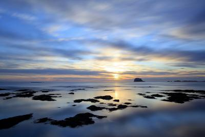 Bass Rock at Dawn, North Berwick, Scotland, UK, August. 2020Vision Book Plate-Peter Cairns-Photographic Print