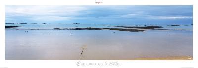 Basse mer sur le Sillon-Philip Plisson-Art Print