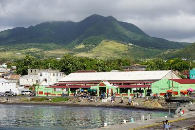 Basseterre, St. Kitts, St. Kitts and Nevis-Robert Harding-Photographic Print