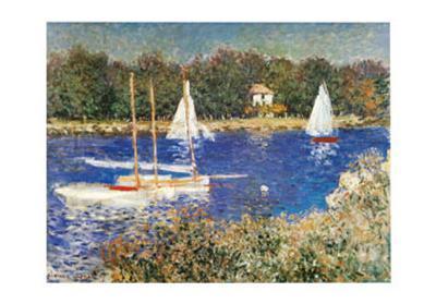 Bassin d'Argenteuil, c.1874-Claude Monet-Art Print