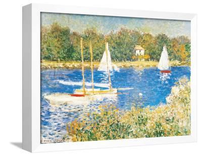 Bassin d'Argenteuil, c.1874-Claude Monet-Framed Canvas Print