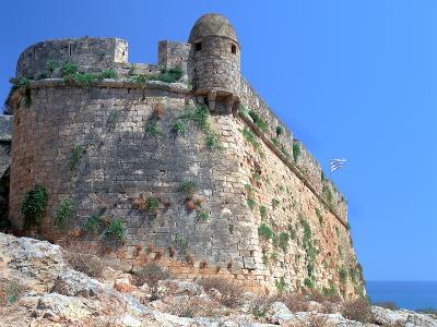 Bastion Walls, the Fortezza, Rethymnon, Crete, Greece-Peter Thompson-Photographic Print