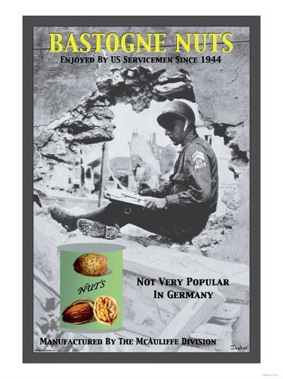 Bastogne Nuts--Art Print