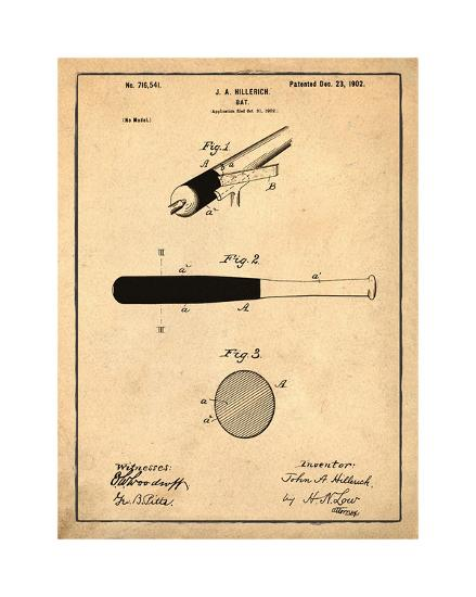 Bat, 1902-Antique-Bill Cannon-Giclee Print
