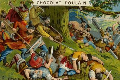 Batavian Revolt Against the Romans--Giclee Print