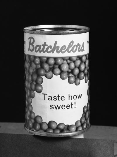 Batchelors Peas Tin, 1963-Michael Walters-Photographic Print