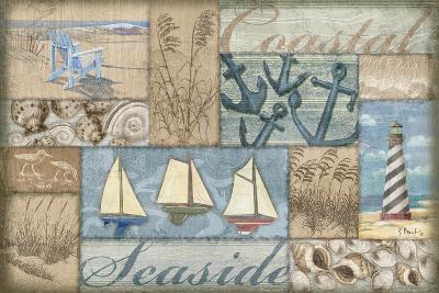 Bateau Bay Collage I-Paul Brent-Art Print