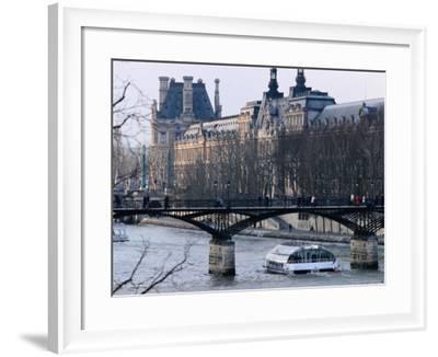 Bateau Mouche on the Seine-Jean-Bernard Carillet-Framed Photographic Print
