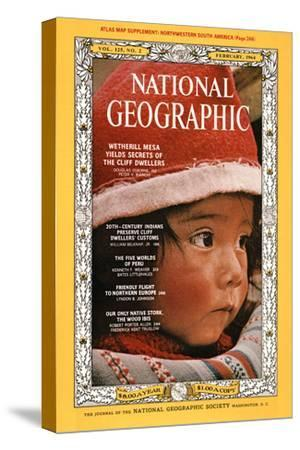 Cover of the February, 1964 National Geographic Magazine