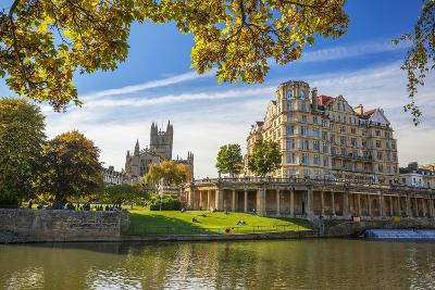 Bath Abbey, Bath, UNESCO World Heritage Site, Avon, Somerset, England, United Kingdom, Europe-Billy Stock-Photographic Print