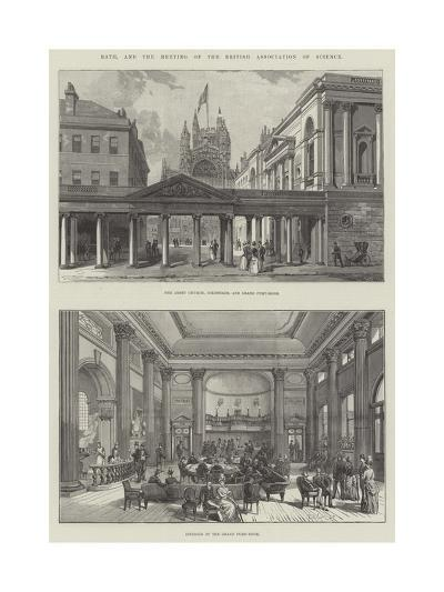 Bath, and the Meeting of the British Association of Science--Giclee Print