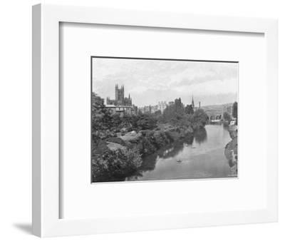 'Bath', c1896-J Dugdale & Co-Framed Photographic Print