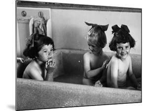 Bath For Three