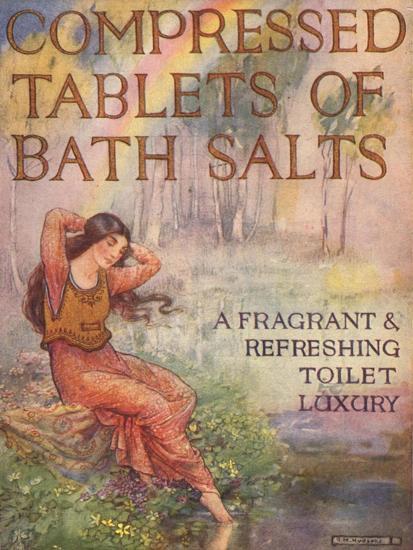 Bath Salts, UK, 1920--Giclee Print