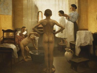 Bath Time-Carl Vilhelm Meyer-Giclee Print