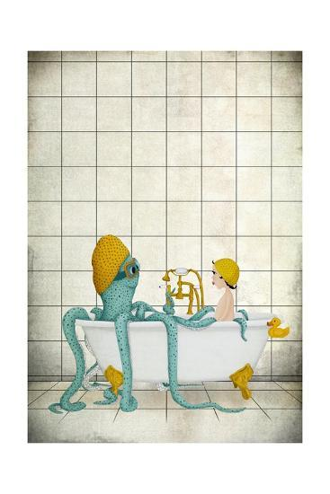 Bath Time-Maja Lindberg-Art Print