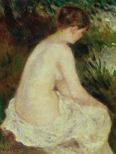 Bather, 1879-Pierre-Auguste Renoir-Giclee Print