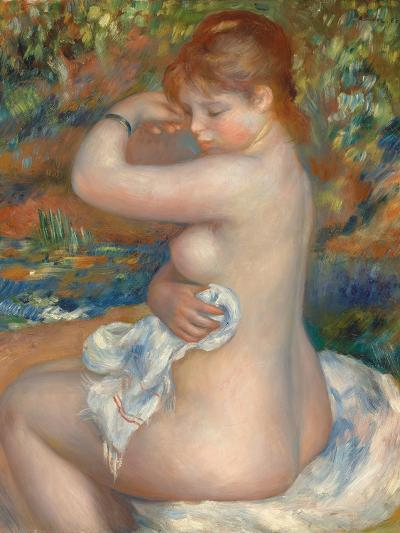 Bather; Baigneuse, 1888-Pierre-Auguste Renoir-Giclee Print