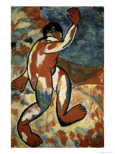 Bather, c.1911-Kasimir Malevich-Giclee Print