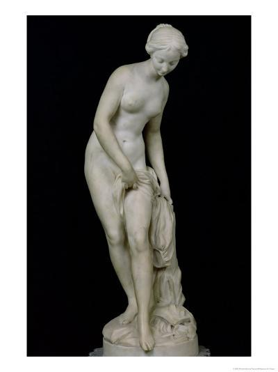Bather Getting into a Bath, 1757-Etienne-Maurice Falconet-Giclee Print