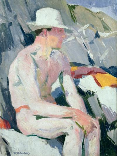Bather in a White Hat-Francis Campbell Boileau Cadell-Giclee Print