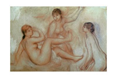Bathers, C.1887-Pierre-Auguste Renoir-Giclee Print