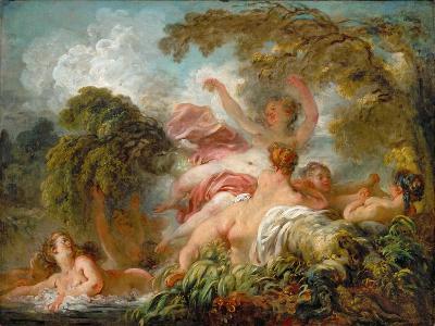 Bathers (Les Baigneuse)-Jean-Honor? Fragonard-Giclee Print