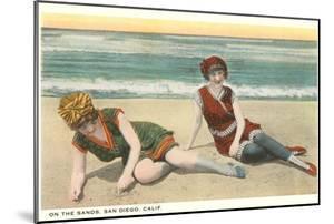 Bathers on the Beach, San Diego, California