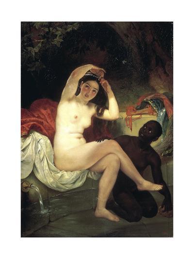 Bathing Bathsheba, 1832-Karl Briullov-Giclee Print