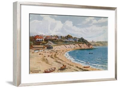 Bathing Beach, Falmouth-Alfred Robert Quinton-Framed Giclee Print