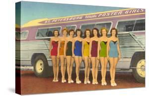 Bathing Beauties by Bus, St. Petersburg, Florida