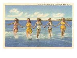 Bathing Beauties, Wrightsville Beach, North Carolina