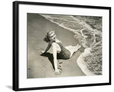 Bathing Beauty--Framed Photo