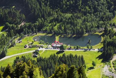 Bathing Lake WaldhŠuslalm, Untertalbach, Niedere Tauern, Styria, Austria-Rainer Mirau-Photographic Print