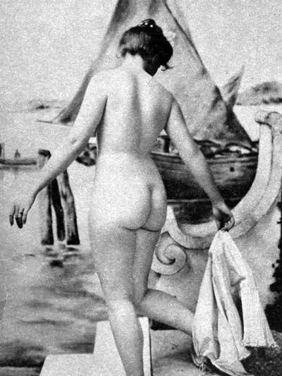 Bathing Nude, 1902-Fritz W. Guerin-Photographic Print